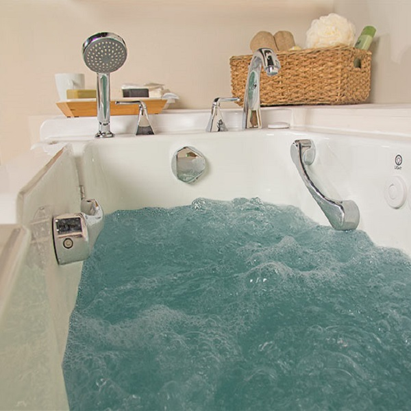 Bath Time Risky for Older Adults