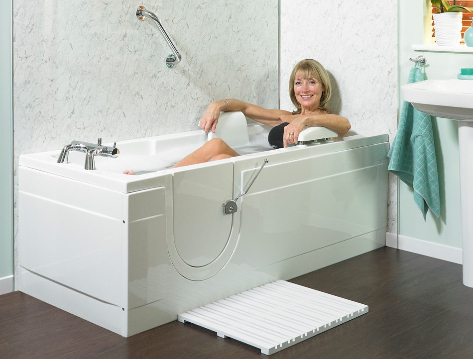 Types of Walk-in Bathtubs
